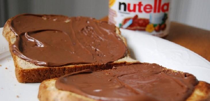 nutella y otrod productos que tienen aceite de palma