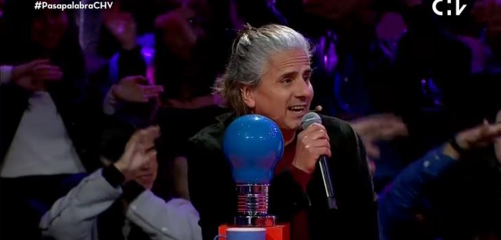 Pablo Herrera se equivocó en la letra de su propia canción en Pasapalabra