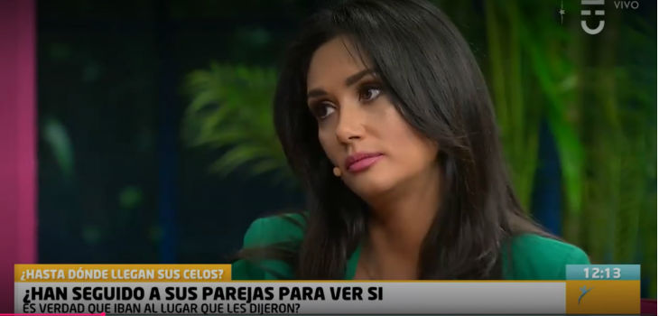 Pamela Díaz recordó cuando la pillaron siendo infiel