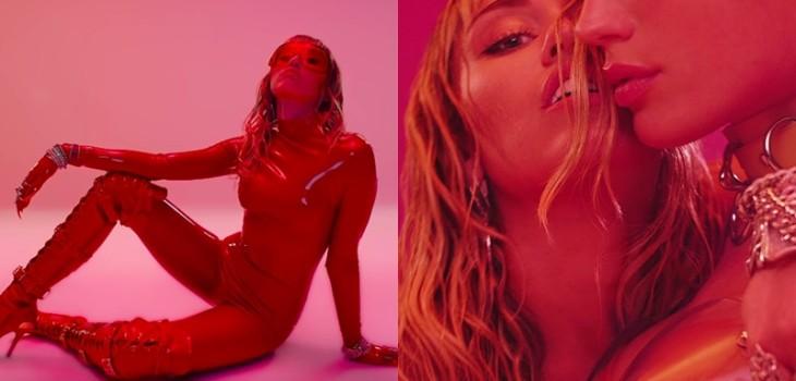 Youtube videoclip de Miley Cyrus contenido sexual