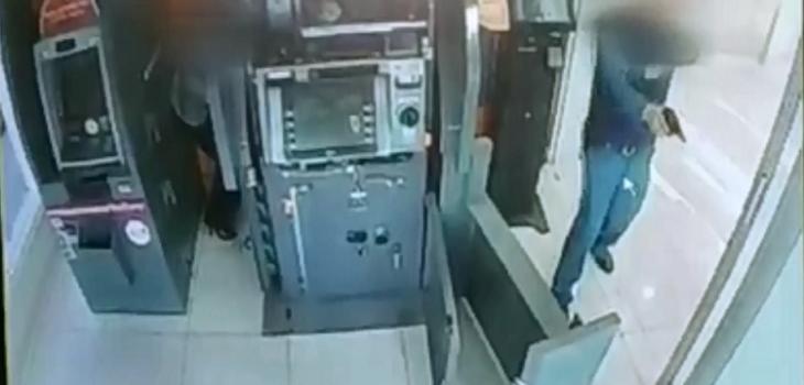 Robo frustrado en Vitacura