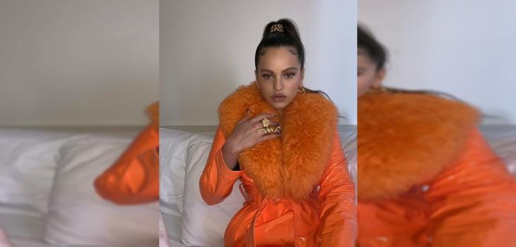 Rosalía es criticada por usar abrigos de piel de animal