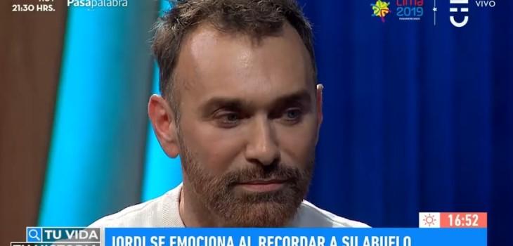 Jordi Castell se emocionó al hablar de su abuelo