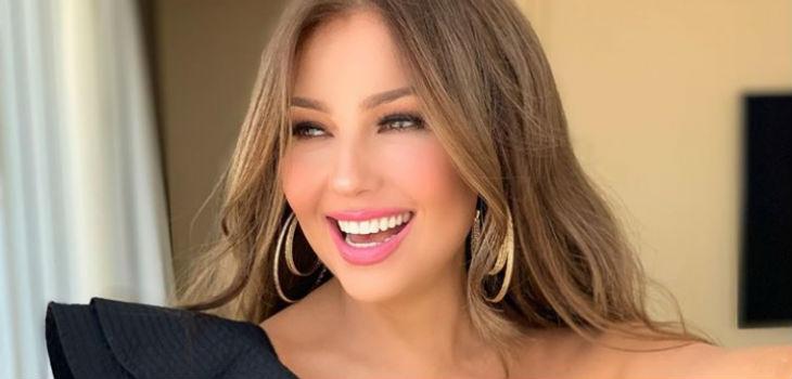 Thalía mostró su impresionante clóset