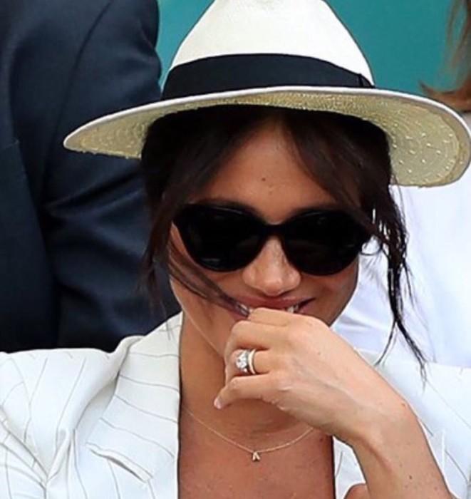 Meghan Markle homanje Archie Wimbledon collar