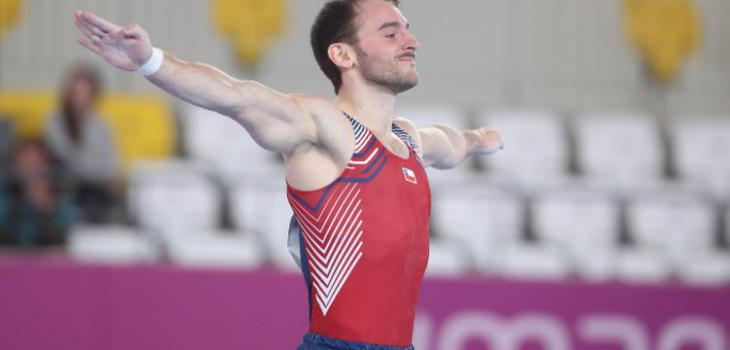 Tomás González logró medalla de oro en final de suelo de los Juegos Panamericanos