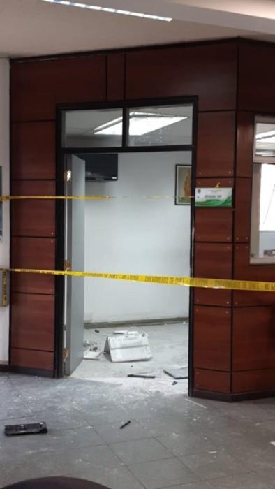 explosion comisaria huechuraba