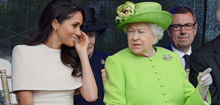 Reina Isabel II y el plan que ideó para que Meghan Markle no sufra el mismo destino que Lady Di