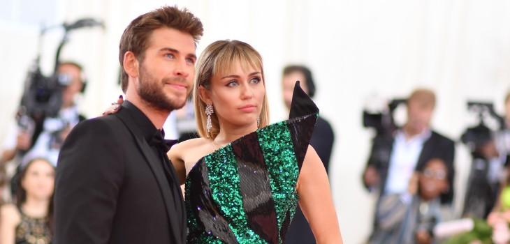 Miley Cyrus y Liam Hemsworth anunciaron su quiebre a menos de un año de su casamiento