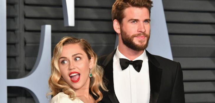 Liam Hemsworth presentó papeles para divorcio con Miley Cyrus