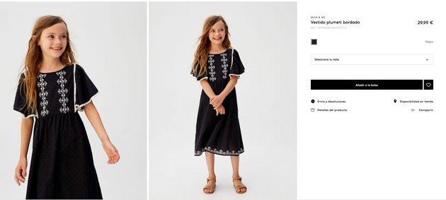 """El aplaudido vestido """"boho"""" de la princesa Leonor al que puedes acceder por un poco más de $20 mil"""