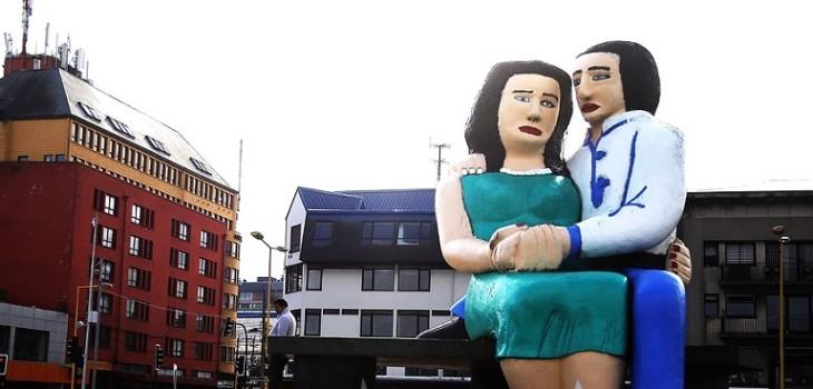 Estatua de Puerto Montt se quedará en la misma posición