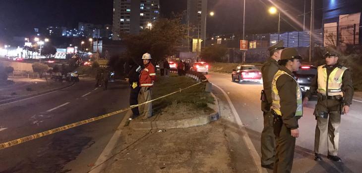 Dos muertos en accidente en Camino Internacional