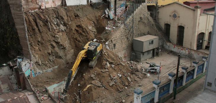 Entre 1500 y 2 mil casas en riesgo de derrumbe en Valparaíso