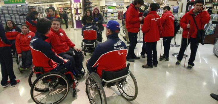 Juegos Parapanamericanos de Lima: Hoy partió primer grupo de atletas chilenos