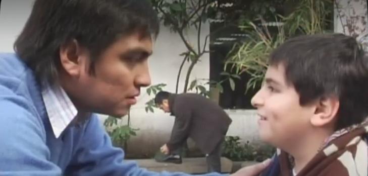 Sergio Freire se reencontró con Tata Yaya: el querubín ya tiene 19 años