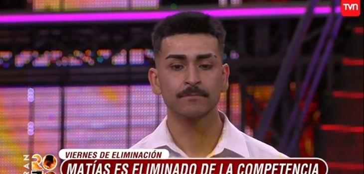 Matías Falcón se convirtió en el nuevo bailarín eliminado del Gran Rojo