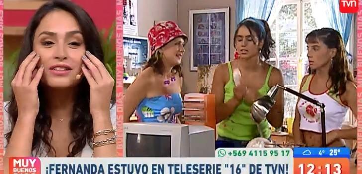 La divertida anécdota que llevó a Fernanda Urrejola a actuar en 16: nunca se lo propuso