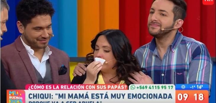 Chiqui Aguayo rompió en llanto al hablar de su madre en 'Muy Buenos Días': el panel la consoló