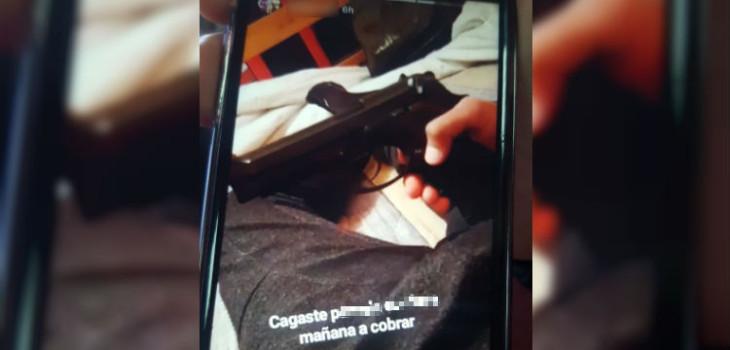 era de mentira pistola con que ex alumno amenazó con tiroteo en quilpue