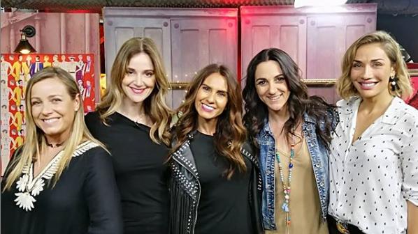 Daniela Kirberg y Carolina de Moras en cosas de mujeres