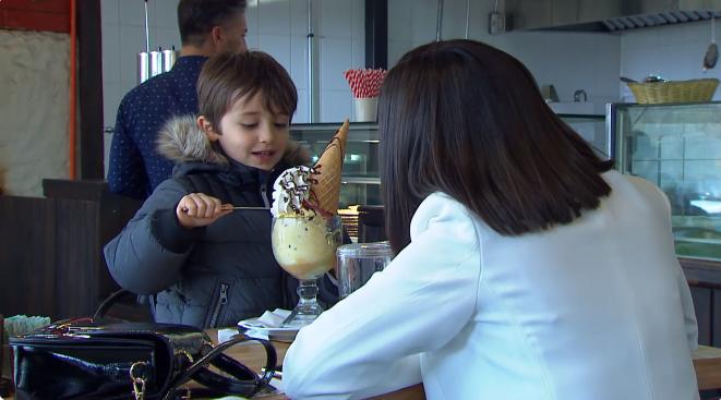 Verdades Ocultas helado Benjamín y Rocío