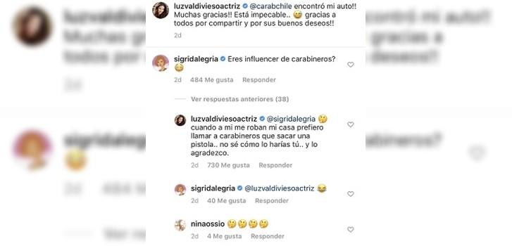 Instagram | Luz Valdivieso
