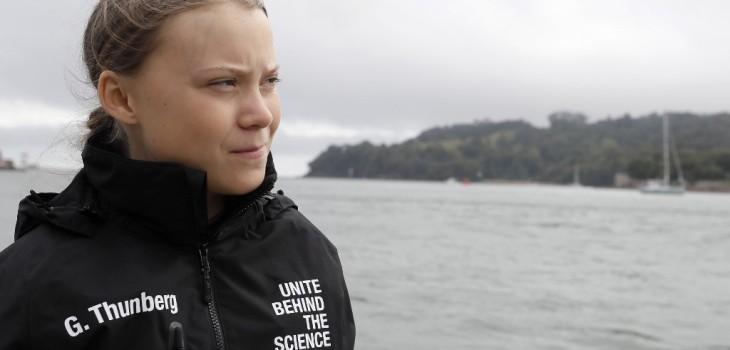 Greta Thunberg zarpa en velero sin emesiones