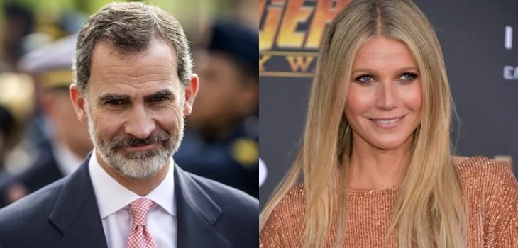 Antiguo romance del rey Felipe y Gwyneth Paltrow