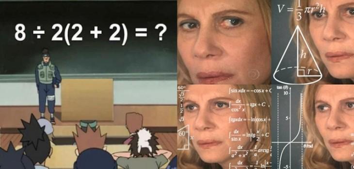 8÷2(2+2): el problema matemático es viral y que tiene más de un resultado correcto