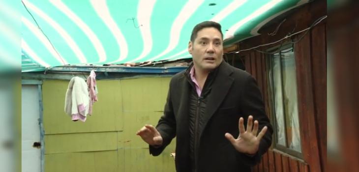 Contra viento y marea: Pancho Saavedra sacó risas con supersticiosa reacción al ver un gato negro