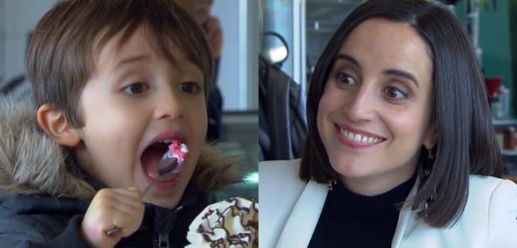 Verdades Ocultas: el detalle en escena de Rocío y Benjamín en heladería que hizo reír a seguidores