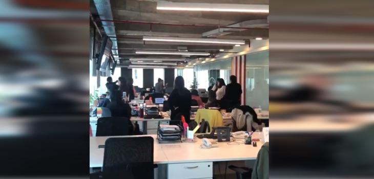 Los videos que dejó fuerte temblor en zona centro sur del país