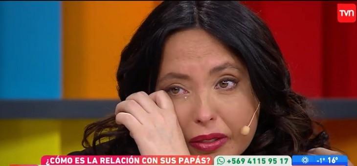 Chiqui Aguayo rompió en llanto al hablar de su madre: el panel la consoló