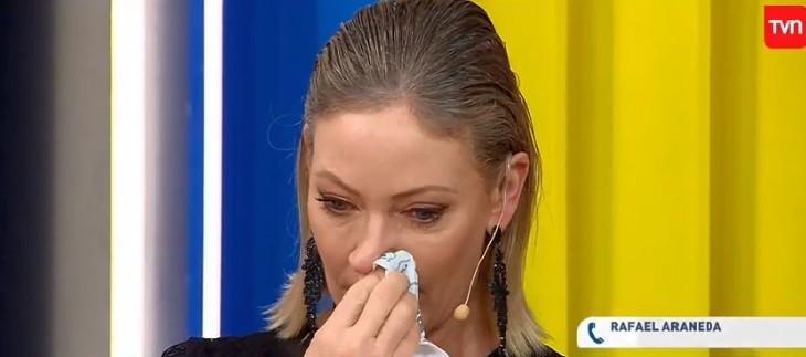 No aguantó las lágrimas: Marcela Vacarezza se quiebra al hablar de la partida de Rafael Araneda
