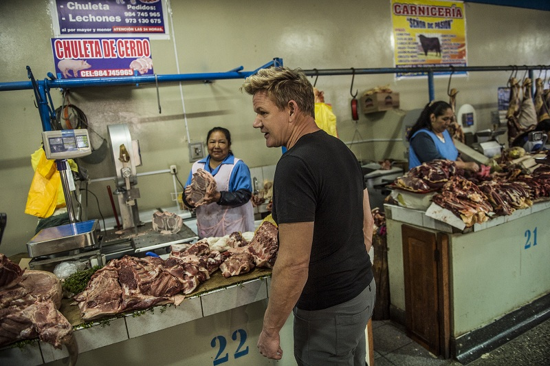 Gordon Ramsay arriba a 'National Geographic' para extremo programa culinario