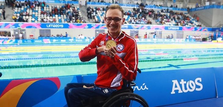 alberto abarza gano tercera medalla de oro parapanamericanos