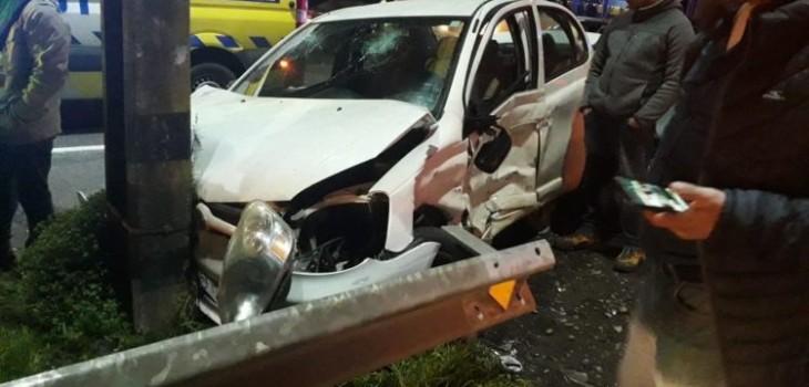 Muere bebé de dos meses tras accidente protagonizado por chofer ebrio