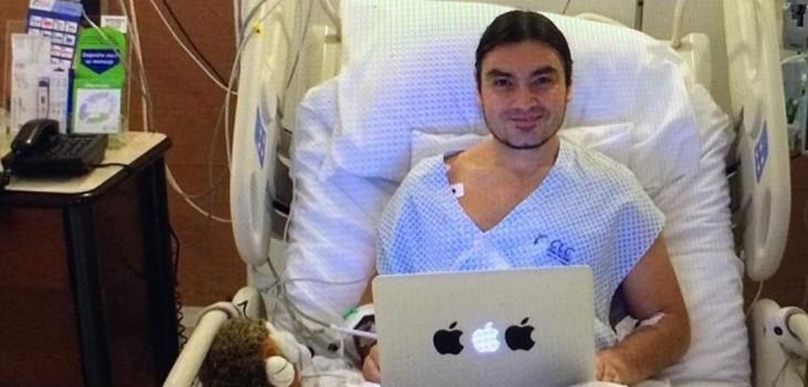 Luis Andaur lanzó profunda reflexión a un año del peor accidente de su vida: le cortaron un hueso