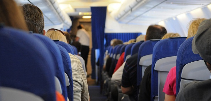asientos inseguros en avión