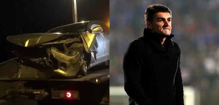 Fernando Astengo chocó en estado de ebriedad en Peñalolén y luego fue asaltado tras el accidente