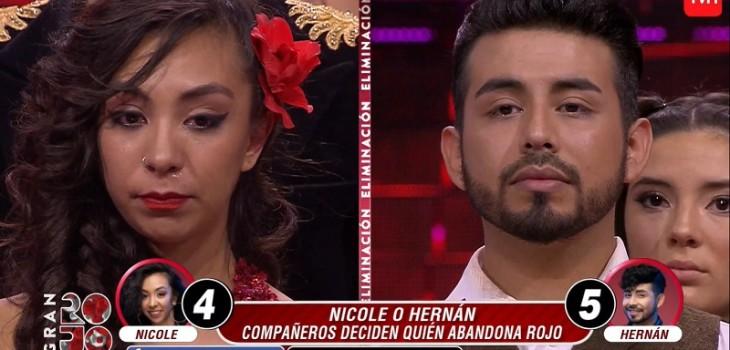 Hernán Arcil nuevo eliminado del Gran Rojo