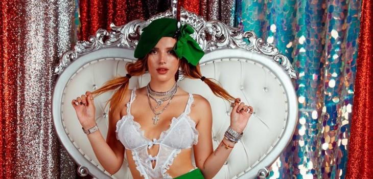 Bella Thorne debuta como directora de cine porno