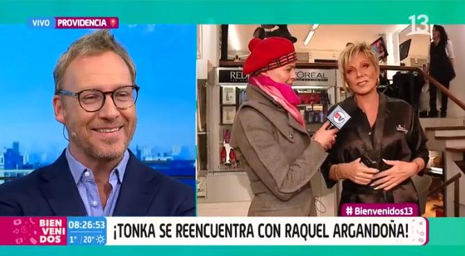 Raquel en Bienvenidos