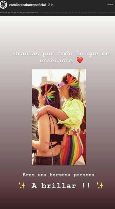Dana Hermosilla confirmó quiebre con Camila Recabarren