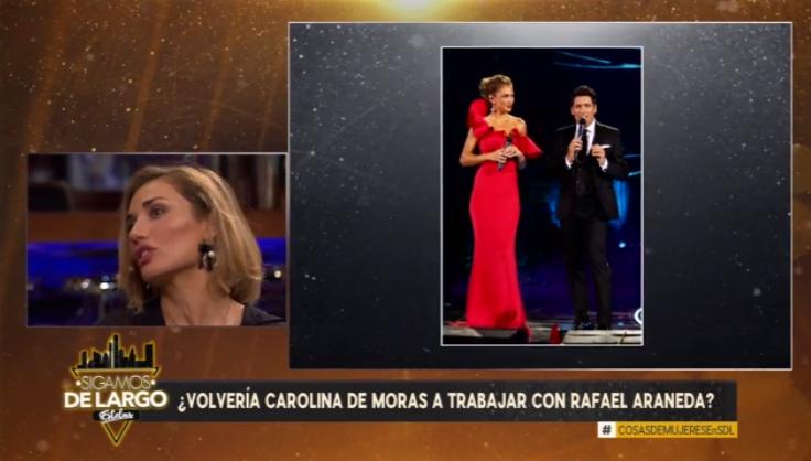 Sorpresiva respuesta de Carola de Moras en Sigamos de Largo