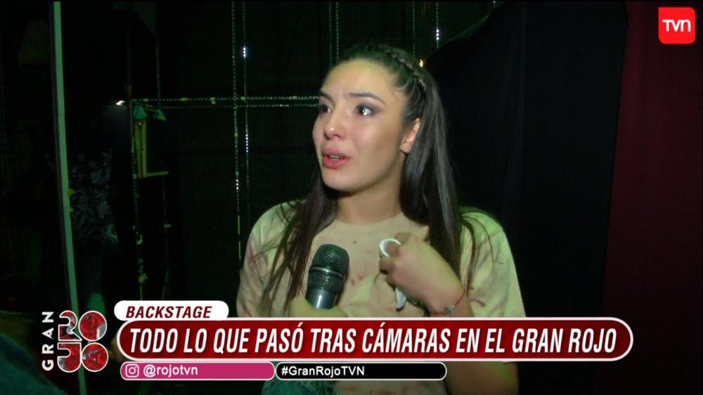 """Chantal Gayoso se desahogó tras criticada presentación en Gran Rojo: """"Estoy con mucha pena"""""""