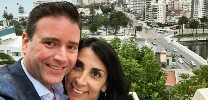 Periodista de La Red e Intendenta Rubilar muy enamorados