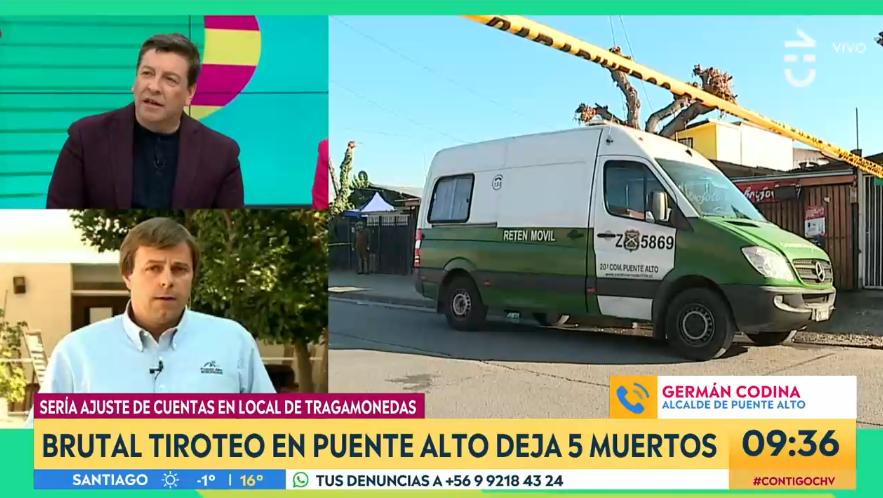Julio César Rodríguez y alcalde de Puente Alto protagonizaron tenso cruce en 'Contigo en la Mañana'
