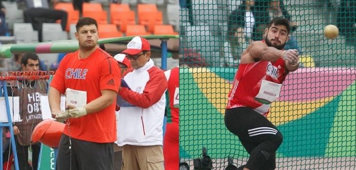 Gabriel Kehr y Humberto Mansilla obtuvieron oro y plata en panamericanos